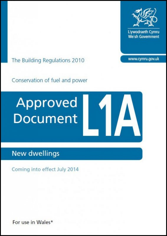 Part L1A - Building Regulations - Approved Document - Wales