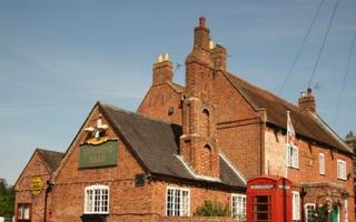 Chimneys on pub