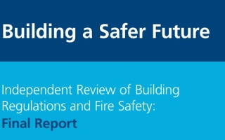 Hackitt Report - Building a Safer Future front cover