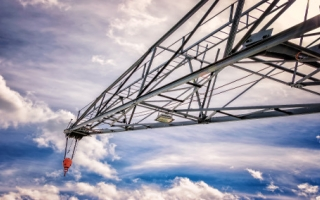 Hackitt Review, regulatory review - picture showing crane on construction site