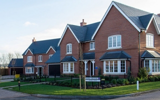 New homes on an estate - planning rules