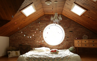 Rooflight in loft