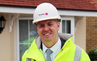 Simon Adamson of Croudace Homes - LABC award winner