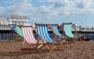 Sun loungers in Brighton - the LABC South East region awards 2018