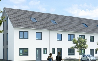 Terraced house - energy efficiency