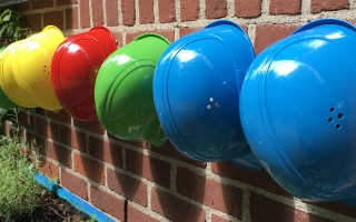 Construction workers helmets - FMB and rogue builders